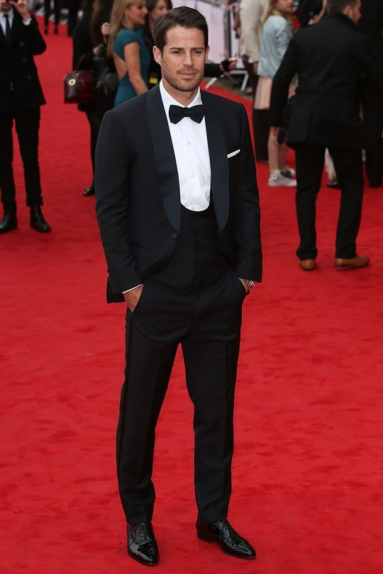 Jamie Redknapp in Thom Sweeney at the British Academy Television Awards 2013