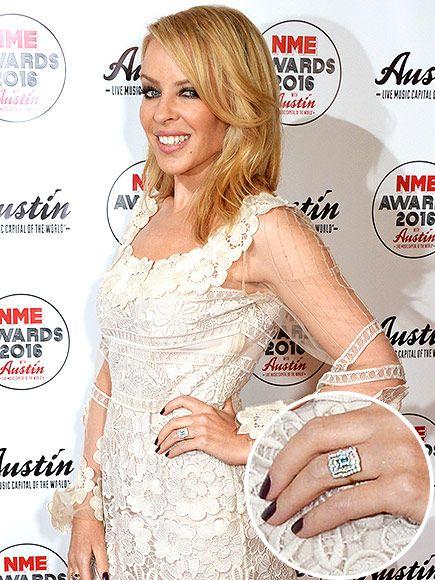 Kylie Minogue Engaged to Boyfriend Joshua Sasse – See Her Diamond Ring!