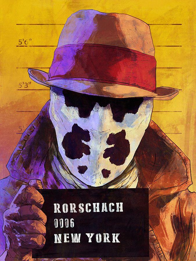 Rorschach Art by Benjamin Terdik