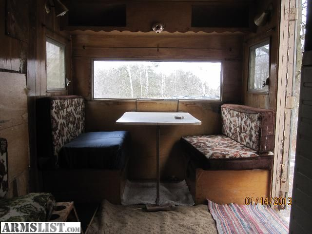ice shanty | For Sale: ice shack 14ft pull behind camper