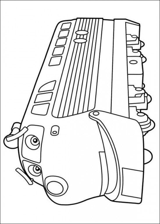 24 Picture Free Chuggington Coloring Pages