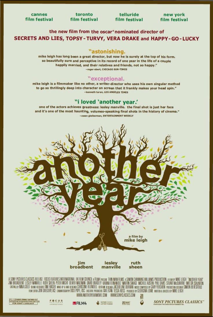 Another Year (2010) - Beautiful and depressing. Or beautifully depressing...