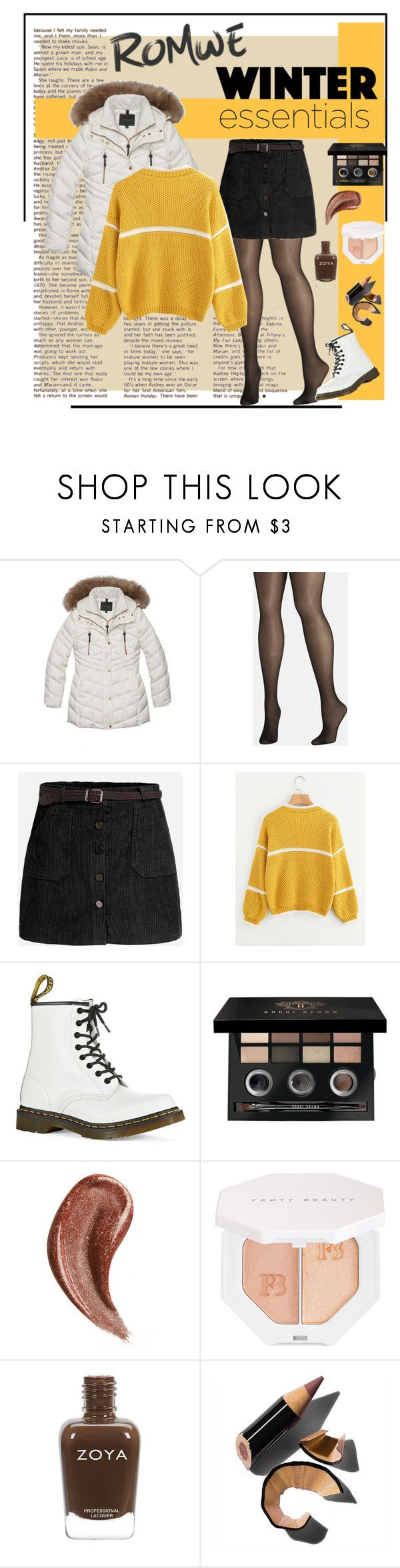 """""""Sunshine's & daisies winter ✨"""" by anya-nicole-marie ❤ liked on Polyvore featuring Andrew Marc, Avenue, Dr. Martens, Bobbi Brown Cosmetics, Gucci and Puma"""