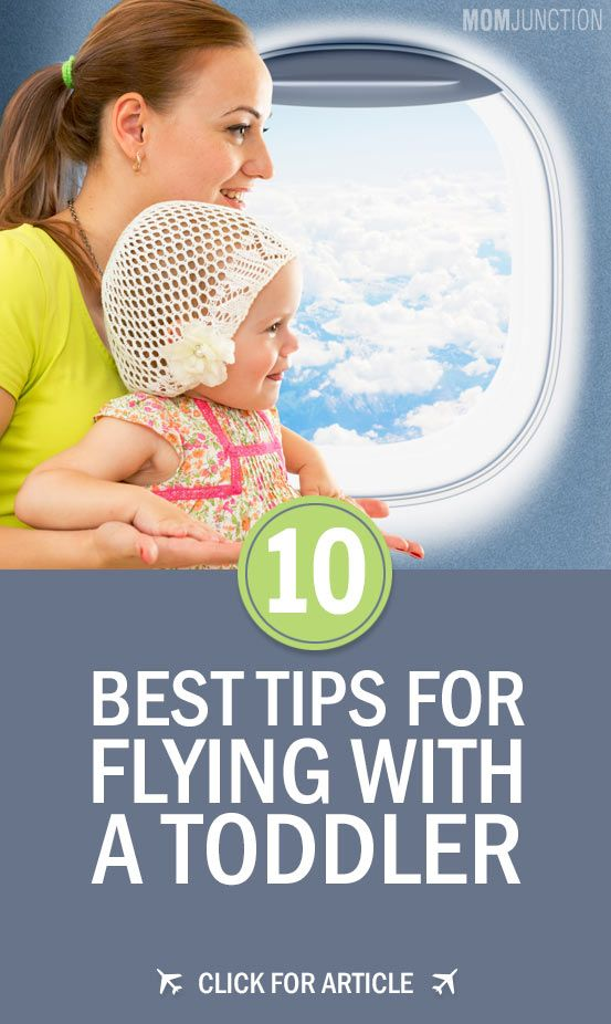 10 Tips for Air Travel with Toddler: We have compiled a set of helpful tips to make your plane travel with toddler a smooth experience!