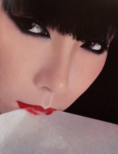 山口小夜子 ファッションモデル 2L版 写真 3枚_画像3