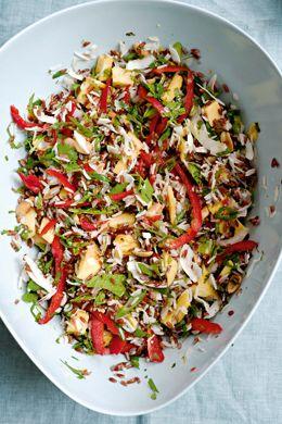 Mango and Coconut Rice Salad Recipe  | Epicurious.com