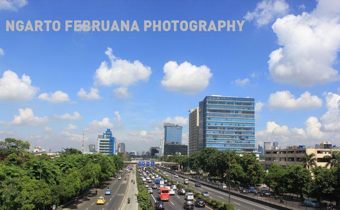 Jakarta in a morning.