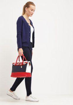 L.Credi - Handtasche - blau/weiß/rot
