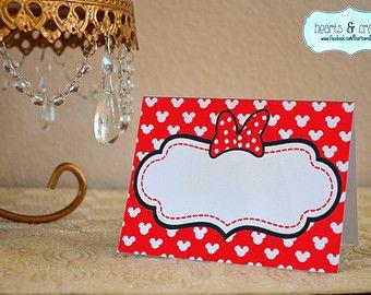 Minnie Mouse primo anno foto Banner / 12 mese di HeartsandCraftsy