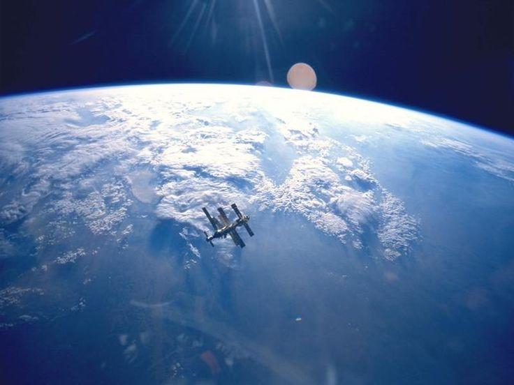 Image la terre vue de l'espace - terre
