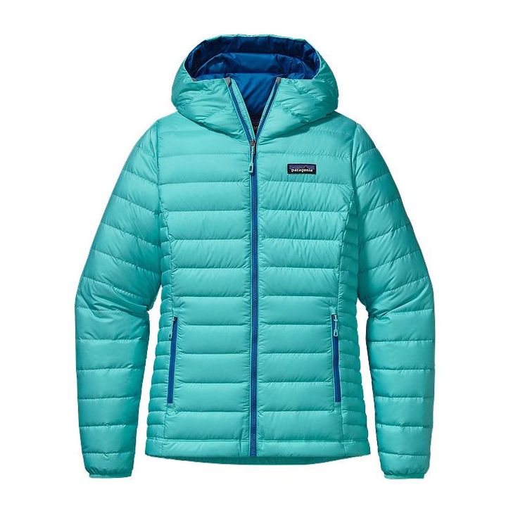 Patagonia Women\'s Down Sweater Hoody - Howling Turquoise HWLT