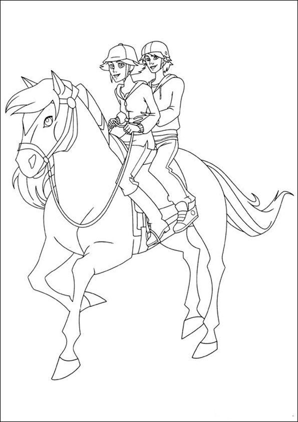 Thumbnail Malvorlagen Pferde Pferdezeichnungen Ranch