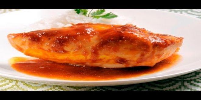 Como preparar la Receta de Pollo en Salsa de Tamarindo, Ingredientes y Modo de preparación paso a paso, Recetas de Cocina Cubana.