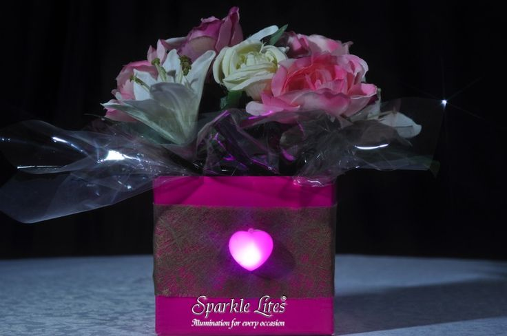 Sparkle Hearts by Sparkle Lites® have a peel and stick backing on each heart.