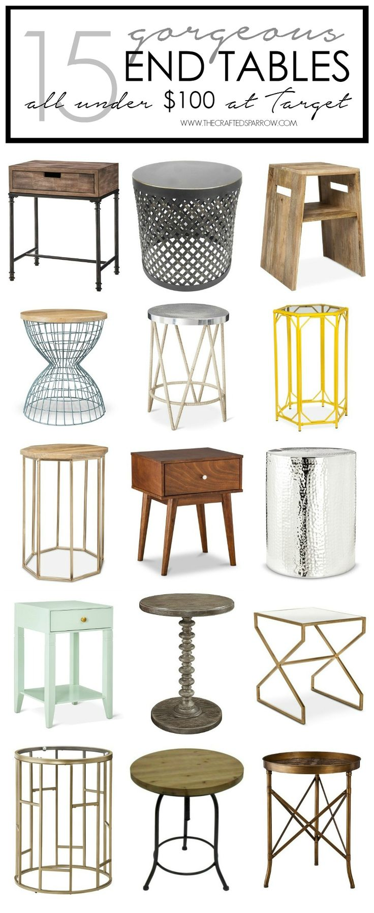 How To Pick & Decorate The Right End Table | DIY Home ...