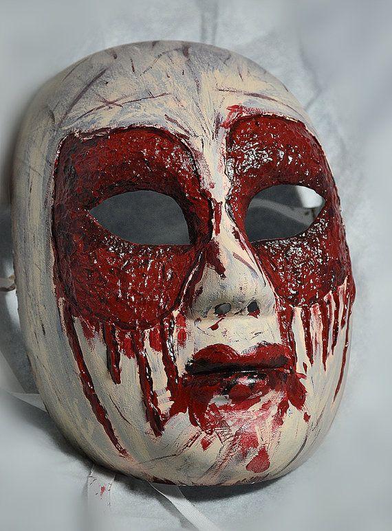 Gothic Grunge Gore blood Halloween mask Halloween masks
