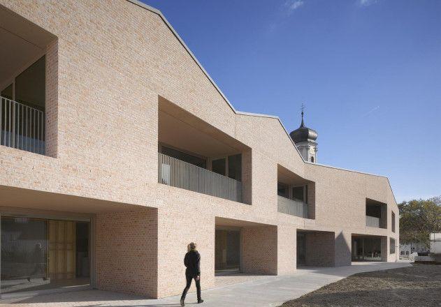 Bächle; Meid; Kinderhaus Tettnang; Ziegel; Architektur