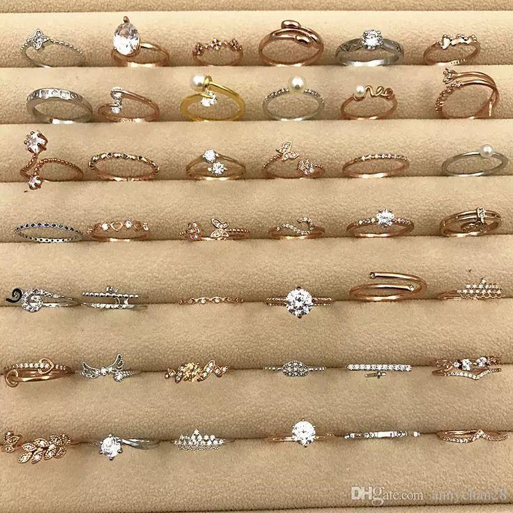 Moda de noivado de anel    – Ringe