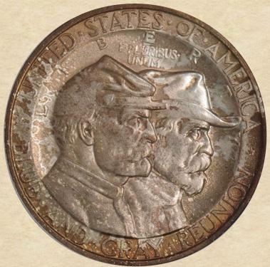 1936 Gettysburg 50c Commemorative  obverse