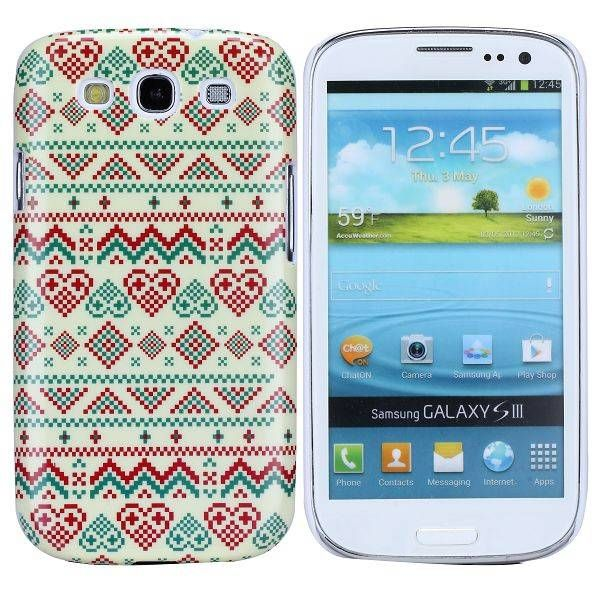 Hartjes Aztec hoesje Samsung Galaxy S3