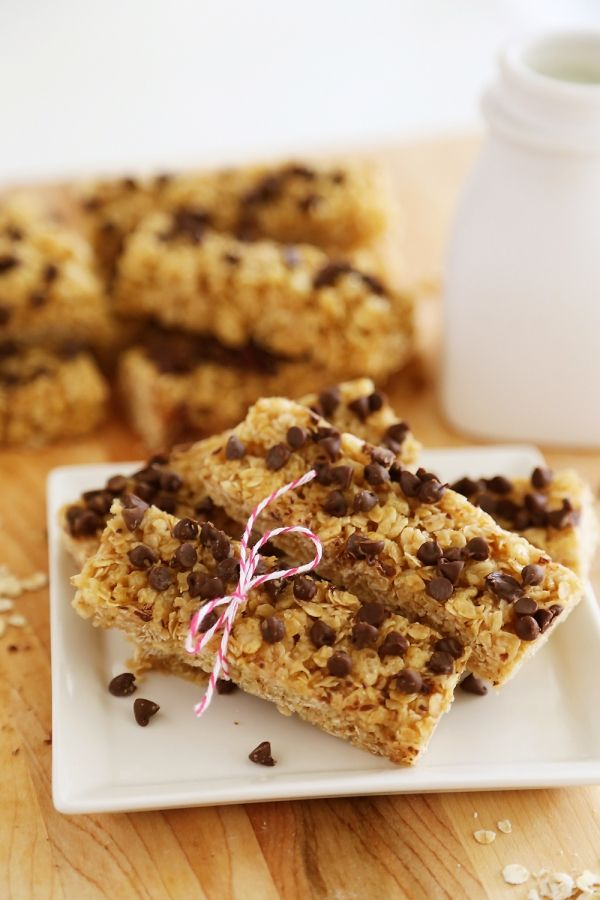 homemade granola bars no bake chewy chocolate chip granola bars crispy chewy 30503