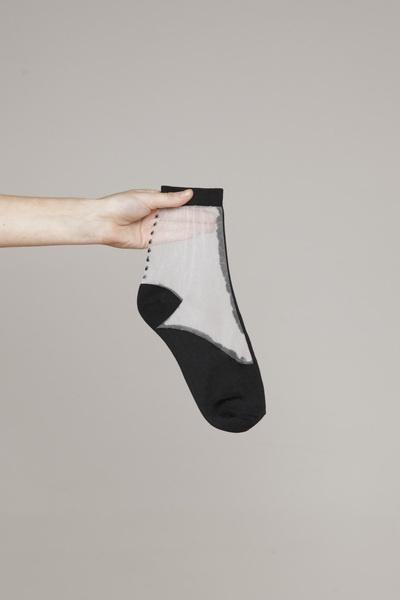 Totokaelo - Rachel Comey - Covered Short Socks - Black