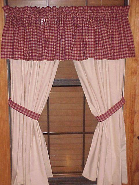 Primitive Muslin Curtains