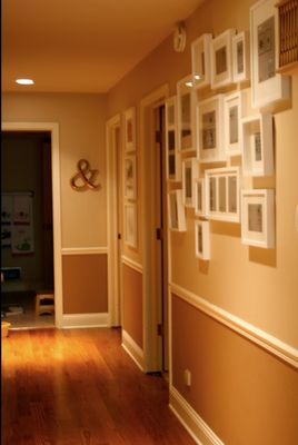 Like The Two Tone Walls With Chair Railand Photo Gallery