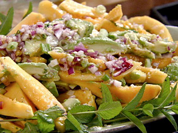 Papaya Avocado Salad Recipe : Michael Chiarello : Food Network - FoodNetwork.com