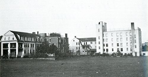 West Side Sanitarium, 1945. York, PA next to York Fairgrounds on Market Street , later the physicians who ran West Side began Memorial Osteopathic Hospital at 325 S.Belmont St. which will be building a new hospital out near West Manchester Mall in 2016.