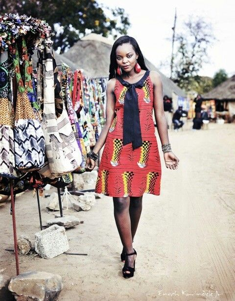 african print dress kamanga wear a zambian design label