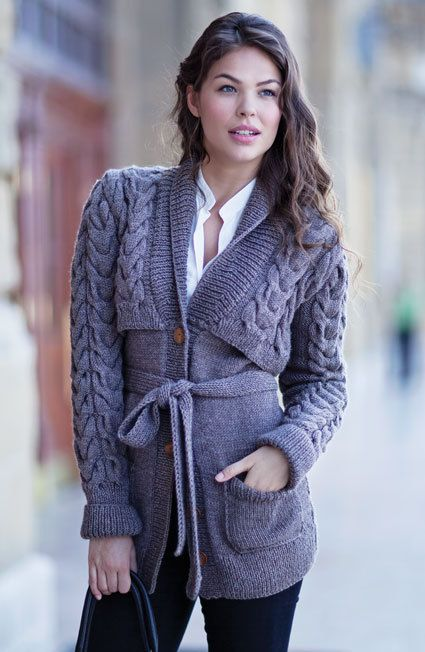 100   WOOL Hand knit Cabled Sweater   Cardigan  by PUREWHITEDECO, $480.00