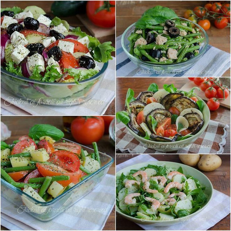 Ricetta sfiziose insalate fredde estive e piatti unici