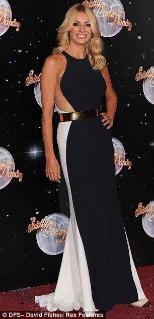 Tess Daly @ Strictly 2012 Premier