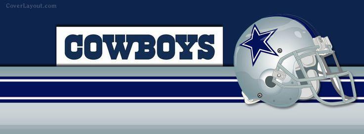 NFL Dallas Cowboys Helmet Facebook Cover CoverLayout.com