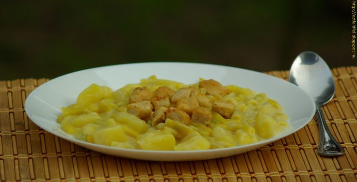 Ezt fald fel!: Vajbabfőzelék krumplival és pirított csirkemell ko...