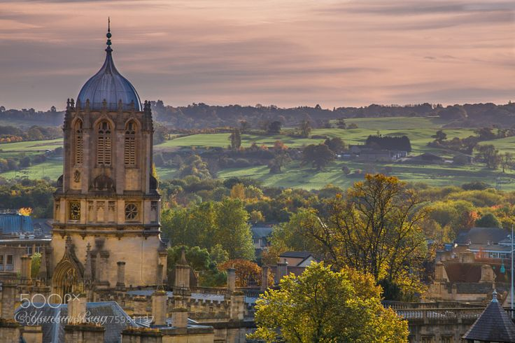 Popular on 500px : Oxford in Autumn by YanlunPeng