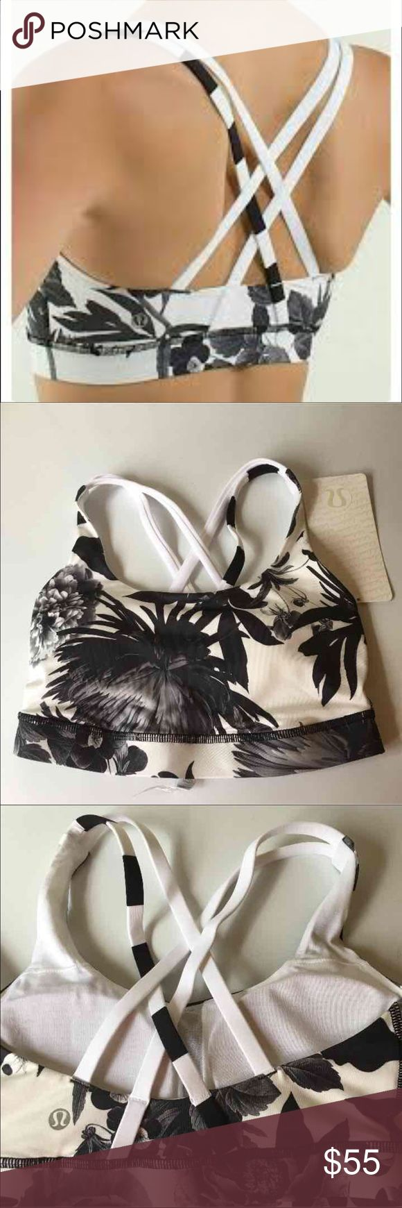 Lululemon NWT brisk bloom energy bra 4. Gorgeous pattern. New with tags. Size 4. Less on mer/cari lululemon athletica Other