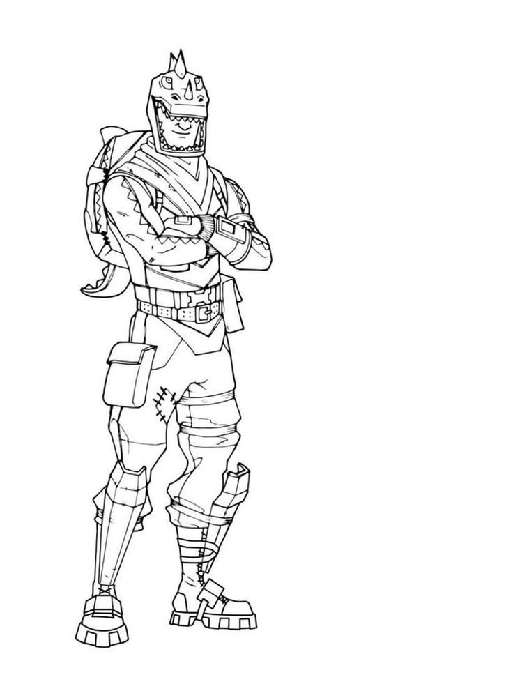 Fortnite Coloring Pages Season 7. Below is a collection of ...