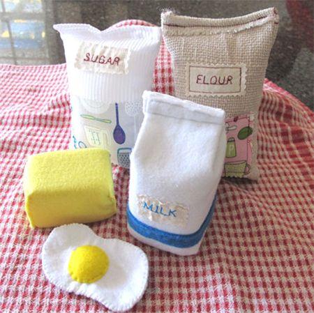 Play Food Baking Set