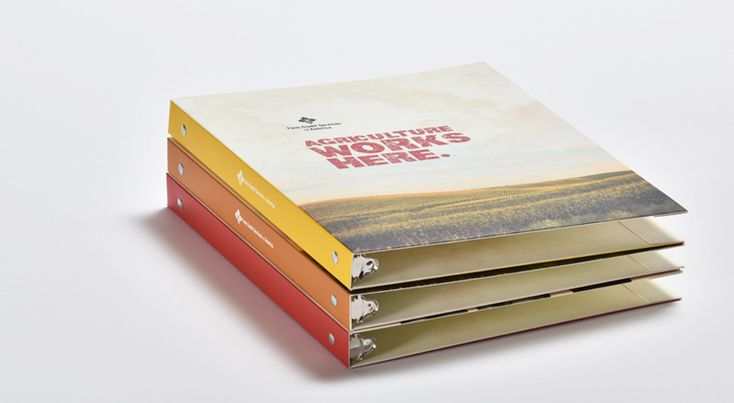 ring folders and presentation binders - corporate image
