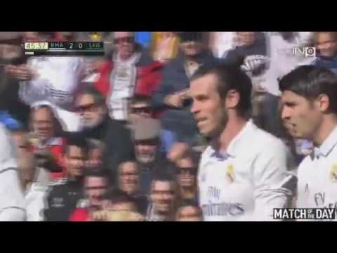 Gareth Bale 2nd Goal Real Madrid vs CD Leganes 2 0 La Liga 06 11 2016