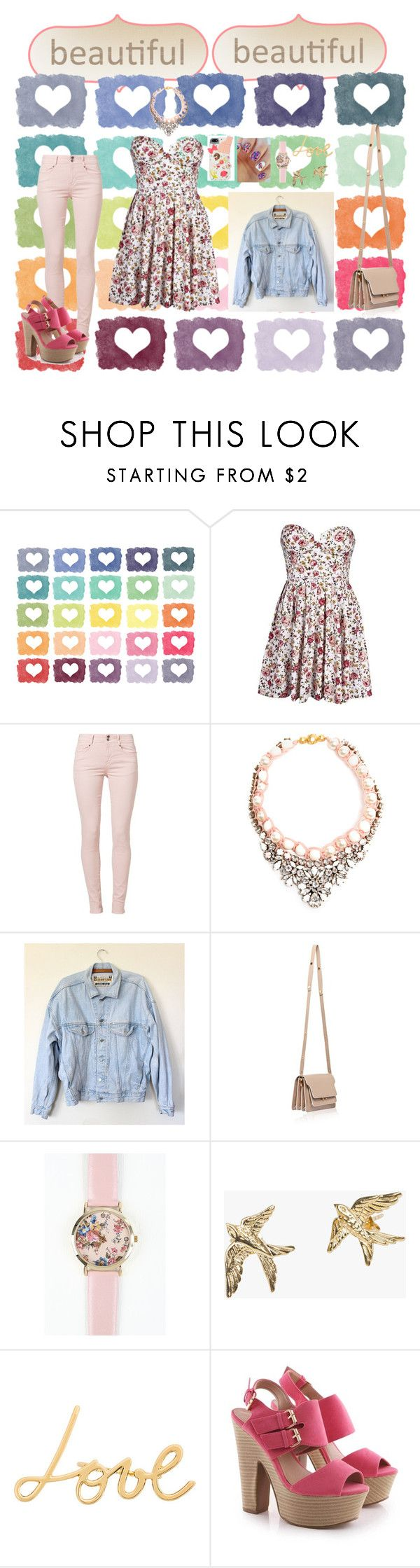 """""""Eid clothes <3"""" by manounou ❤ liked on Polyvore featuring Soyaconcept, SHOUROUK, Marni, Zoe & Morgan and Lanvin"""