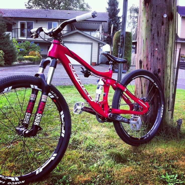 Sam Dueck Norco Slope Style Bike Rockshox Shox Http Www