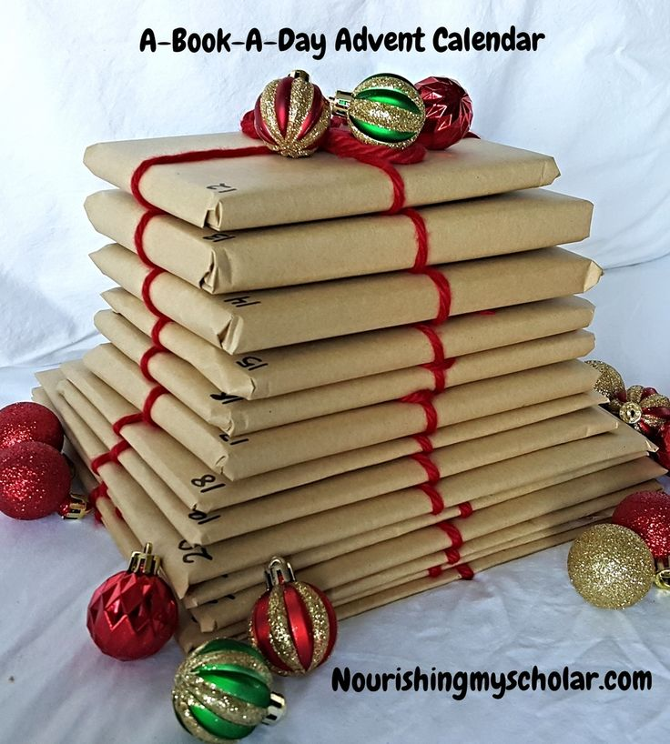 Our A-Book-A-Day Advent Calendar!