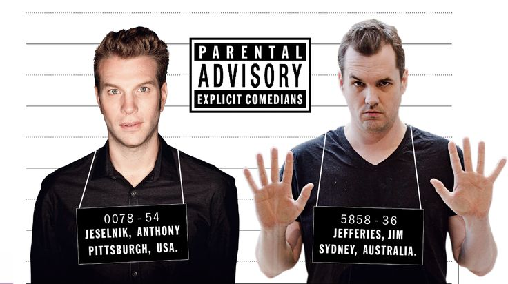 Anthony Jeselnik (from Pittsburgh, USA) and Jim Jefferies (from Sydney, Australia) – Time Out London / two of my favorite dark, shocking, and hellishly hot stand-up comedians