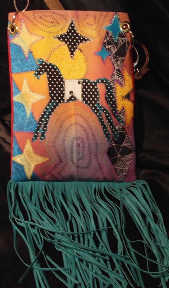 Hand made Messenger bag Purse By  Rez Hoofz   One Of A by REZHOOFZ