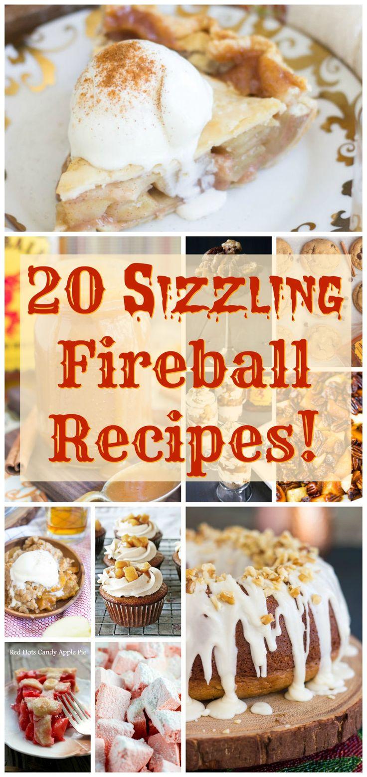 Fireball Recipes Fireball Whiskey Recipes image thegoldlininggirl.com pin