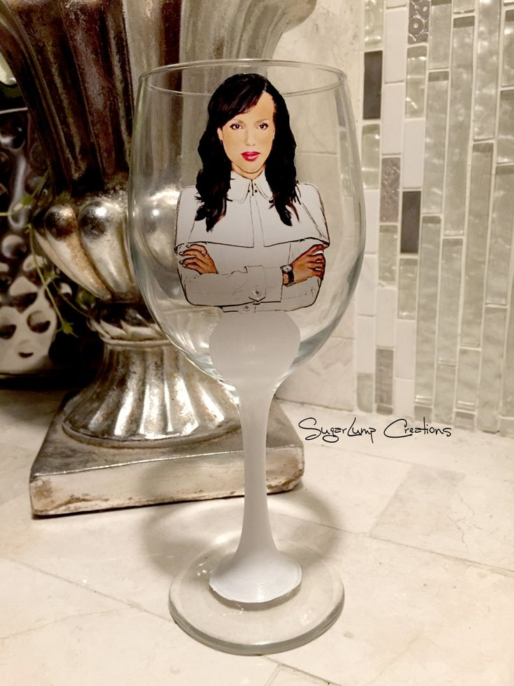 Ready to Ship The Olivia Pope Party Wine Glass Season 5 - pinned by pin4etsy.com