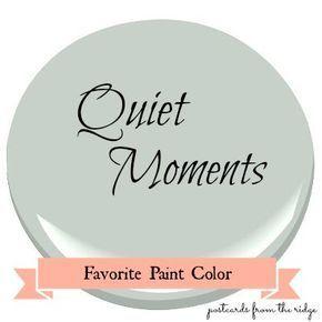 25+ best ideas about Benjamin moore quiet moments on Pinterest ...